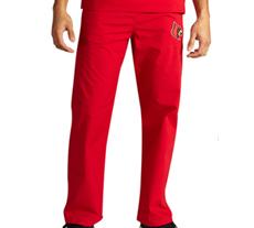 University of Louisville Unisex College Scrub Pants 5310