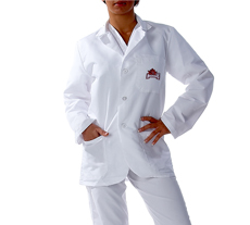 University of Arkansas Short Labcoat