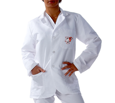 Bowling Green State University Short Labcoat