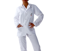 University of Cincinnati Short Labcoat