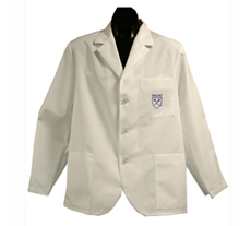 Emory University Short Labcoat