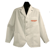 Fresno Pacific University Short Labcoat