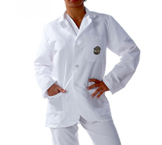 Georgetown University Short Labcoat