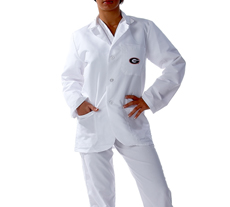 University of Georgia Short Labcoat