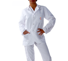 University of Illinois Short Labcoat