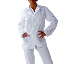 James Madison University Short Labcoats