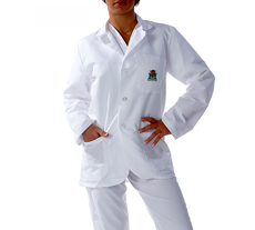 Marshall University Short Long Labcoat