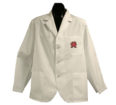 University of Maryland Short Long Labcoat