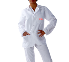University of Mississippi Short Labcoat