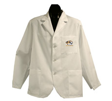University of Missouri Short Labcoat