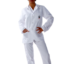 University of New Mexico Short Labcoat
