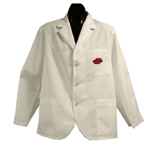 Oklahoma State University Short Labcoat