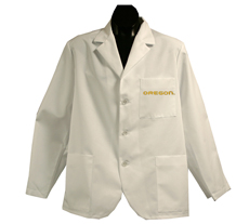 University of Oregon Short Labcoat