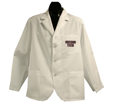 Oregon Tech Short Labcoat