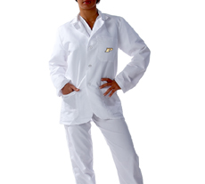 Purdue University Short Labcoat