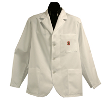 Stanford University Short Labcoat