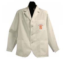 Syracuse University Short Labcoat
