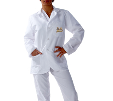 University of California �Los Angles Short Labcoat