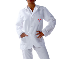 Valdosta State University Short labcoat