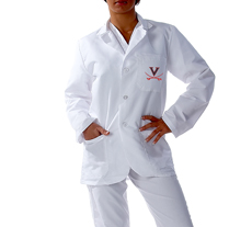University of Virginia Short Labcoat