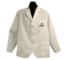 Washington University (St. Louis) Short Labcoat